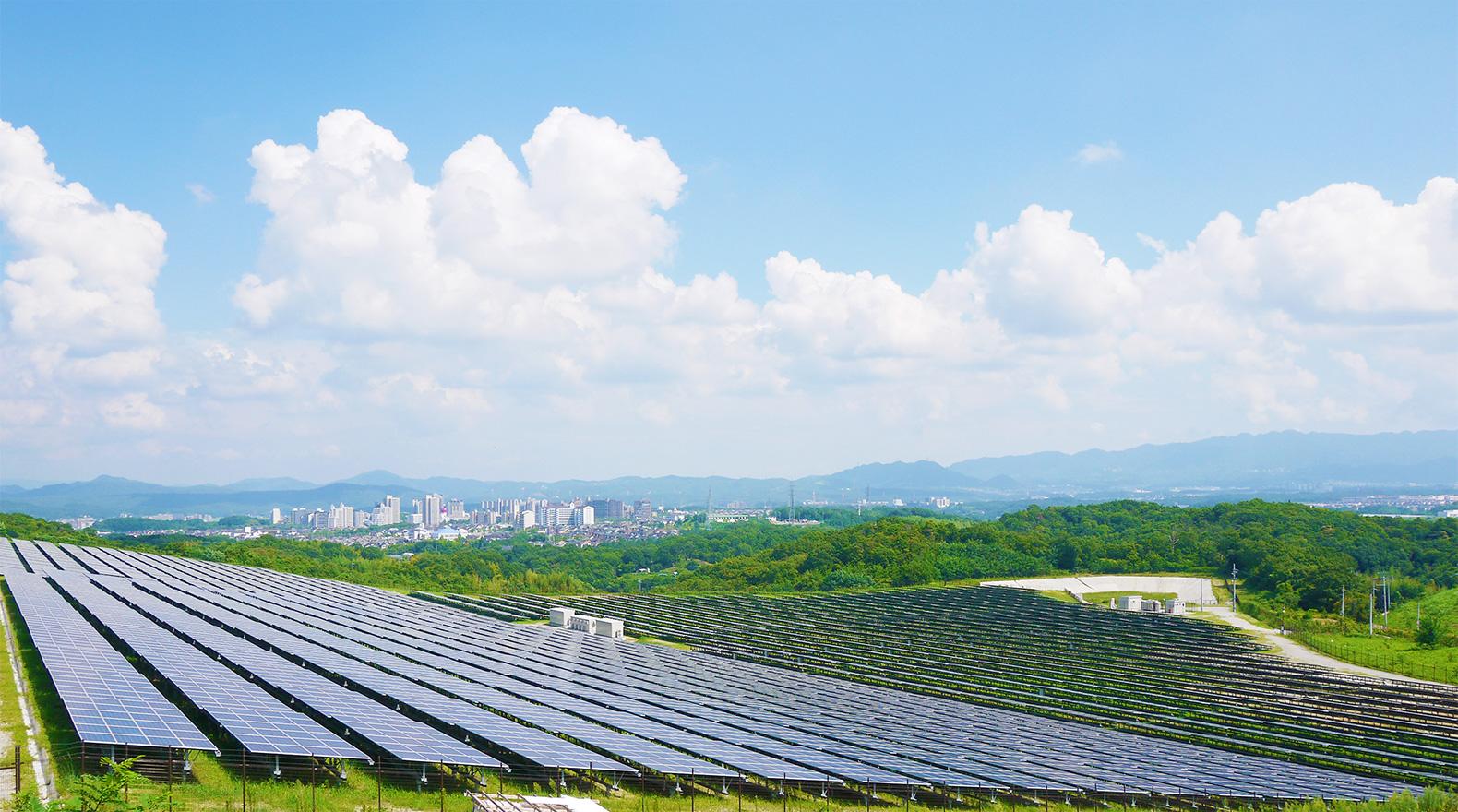 三田池尻太陽光発電